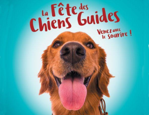 Affiche de la Fête des chiens guides