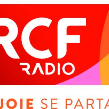 """logo RCF Radio """"la joie se partage"""""""