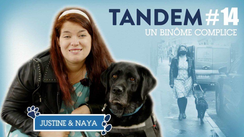 vignette de la vidéo avec le portrait de Justine et Naya
